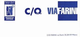 Invito fronte retro e testo di Alberto Garutti e Giacinto di Pietrantonio