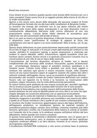 Testo critico di Giulio Verago su Benjamin Greber.