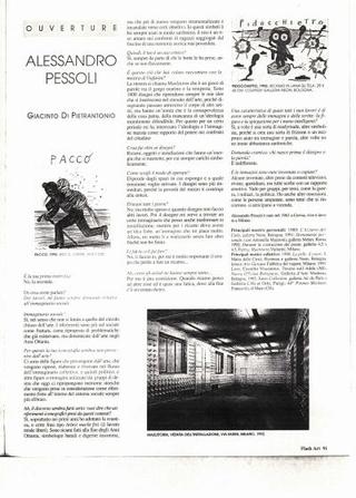 Recensione di Giacinto Di Pietrantonio su Flash Art