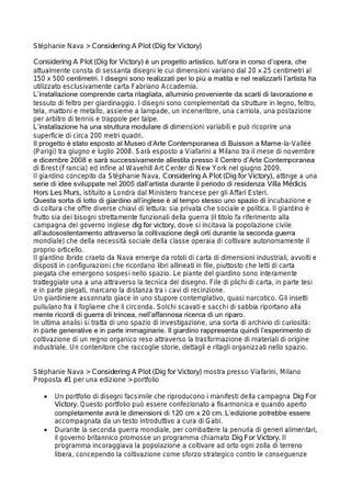 Il progetto per Viafarini.