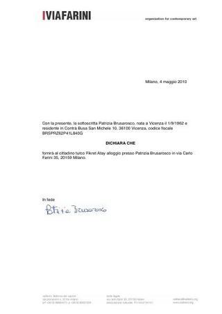 Permesso per il visto di ingresso in Italia negato
