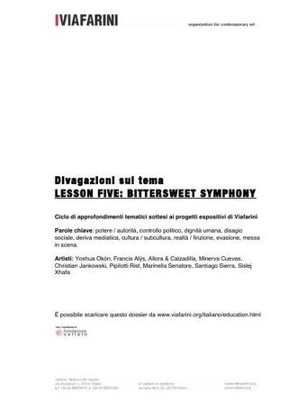 Lesson Five: Bittersweet Symphony
