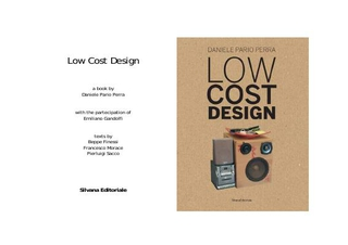 Low Cost Design, il libro.