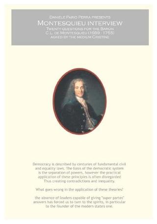 Daniele Pario Perra, Montesquieu Interview