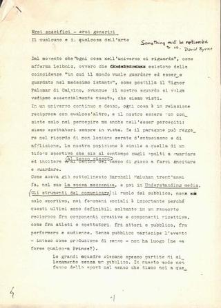 Il testo di Marco Senaldi