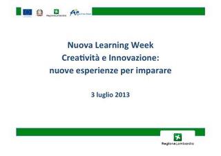 Low Cost Design Workshop @ Milano, mappe dei progetti realizzati dalle classi e elenco dei servizi.