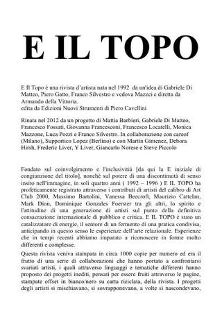 E il Topo, comunicazione, italiano