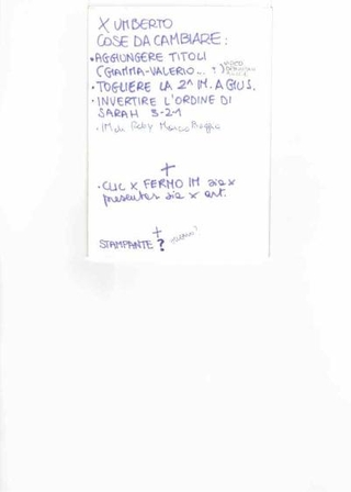 Istruzioni per Umberto Cavenago
