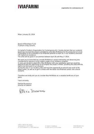 Lettera d'invito